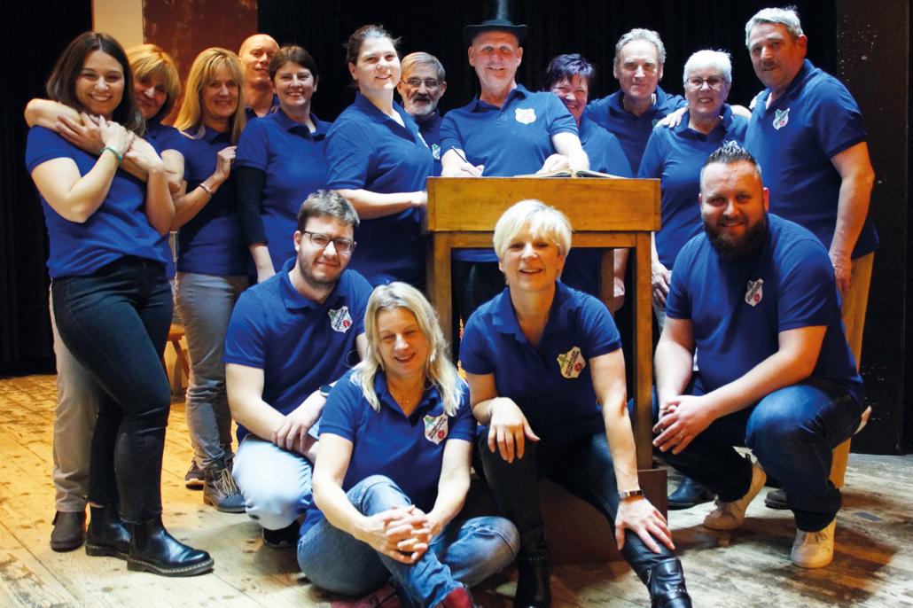Gruppenbild Theatergruppe-ESV